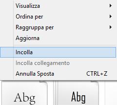 installare font windows gratis