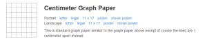carta millimetrata pdf gratis