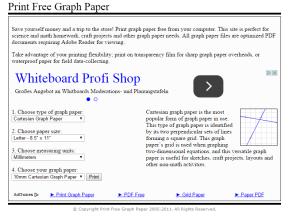 creare carta millimetrata online