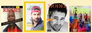 fotomontaggi copertine di riviste
