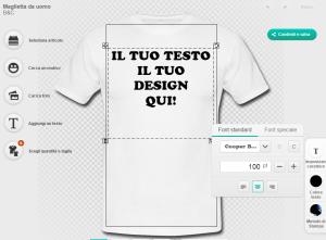 come creare magliette personalizzate online
