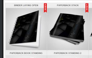 creare copertine di libri