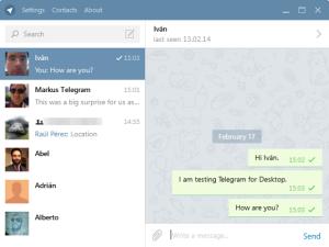 come funziona telegram online