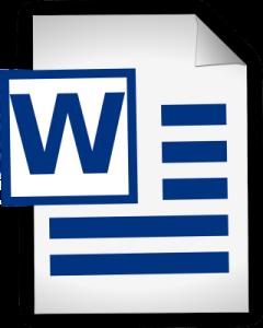 creare carta intestata con word
