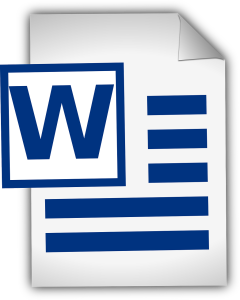 come creare calendario con word